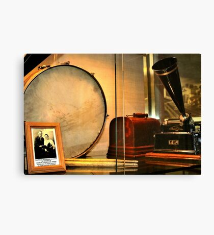 The Sound of Music (Old Phonograph) Canvas Print