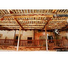 Derelict Wooden Agricultural Building Photographic Print