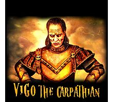 vigo the carpathian- Ghostbusters Photographic Print