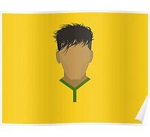 Neymar Brazil Football Design Poster