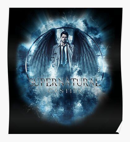 Supernatural Castiel Storm Poster