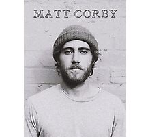 Matt Corby Photographic Print