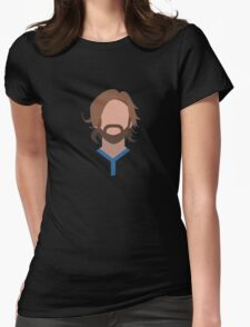 Andrea Pirlo Italian Football Design Womens Fitted T-Shirt