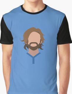 Andrea Pirlo Italian Football Design Graphic T-Shirt