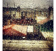 Rain Water Photographic Print