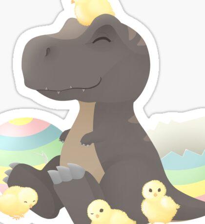 Easter Hatchlings Sticker