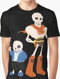 Undertale Sans and Papyrus Amazing Design!! Graphic T-Shirt