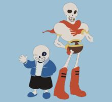 Undertale Sans and Papyrus Amazing Design!! Kids Tee