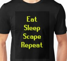 Eat, Sleep, Scape, Repeat. Unisex T-Shirt