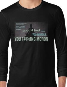 tweets by @dril - Wise Man Long Sleeve T-Shirt
