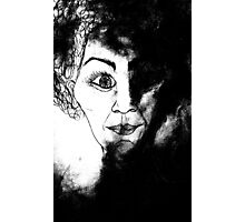women in black Photographic Print