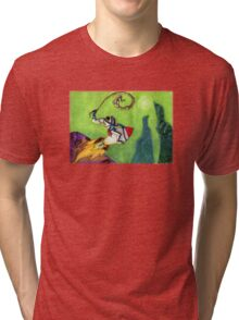 Earthworm Jim Tri-blend T-Shirt
