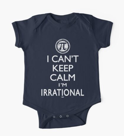 Irrational Pi Day One Piece - Short Sleeve