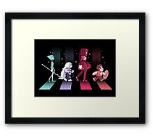 Crystal Road Framed Print