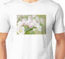 Soft freshness of apple blossom Unisex T-Shirt