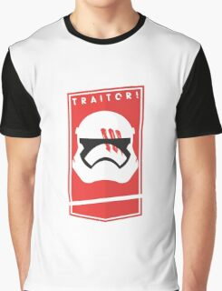 TRAITOR FN-2187 Graphic T-Shirt