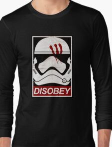 Disobey Trooper Long Sleeve T-Shirt