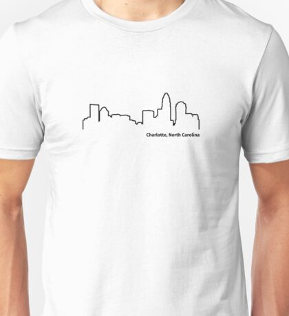 Charlotte, North Carolina Unisex T-Shirt