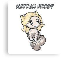 Kitten Frost Canvas Print