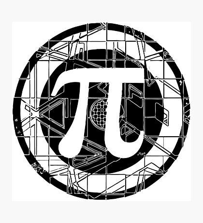 Pi Day Pi Symbol Photographic Print