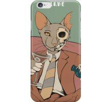 Schrodinger alcoholic cat iPhone Case/Skin