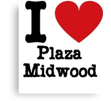 I love Plaza Midwood Canvas Print