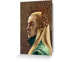 Elven King Greeting Card