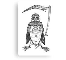The Grim Penguin Canvas Print