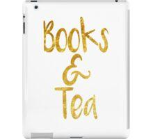 Book & Tea iPad Case/Skin