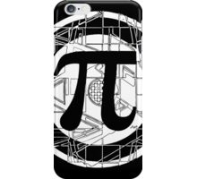 Pi Day Pi Symbol White iPhone Case/Skin