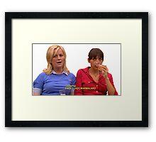 SWEET LADY MARMALARD Framed Print