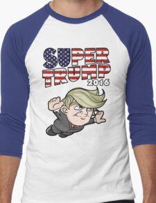 Super Trump 2016 Men's Baseball ¾ T-Shirt