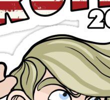 Super Trump 2016 Sticker
