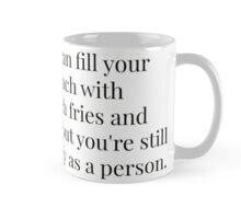 Empty as a Person Mug
