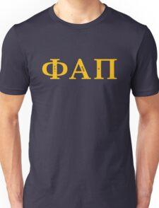 Phi Alpha Pi (Gold Font) Unisex T-Shirt