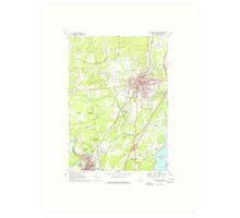 New York NY Saratoga Springs 129388 1967 24000 Art Print