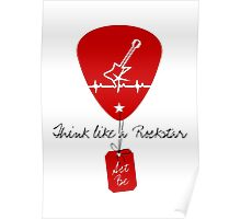 Think like a Rockstar VRS2 Poster