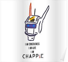 Chappie's Consciousness Poster