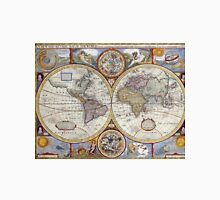 Vintage Map of The World (1626) Unisex T-Shirt