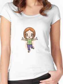 Weight Loss Inspiration Women's Fitted Scoop T-Shirt