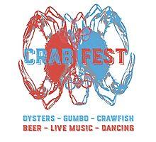 Crab Fest Photographic Print