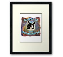Cutest Meowniverse Framed Print