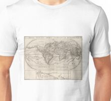 Vintage Map of The World (1621) Unisex T-Shirt