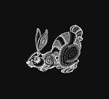 White Rabbit (inverted) Unisex T-Shirt
