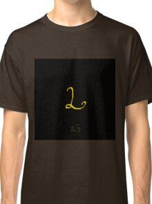 L Golden Alphabet Series Classic T-Shirt