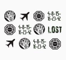 Lost-symbols Kids Tee