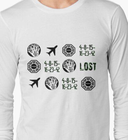 Lost-symbols Long Sleeve T-Shirt