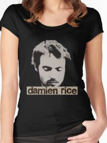 Damien Rice T-Shirt Women's Fitted Scoop T-Shirt