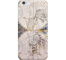 Vintage Map of The World (1700) iPhone Case/Skin