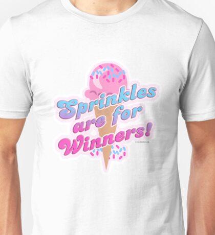 Sprinkles For Winners Unisex T-Shirt